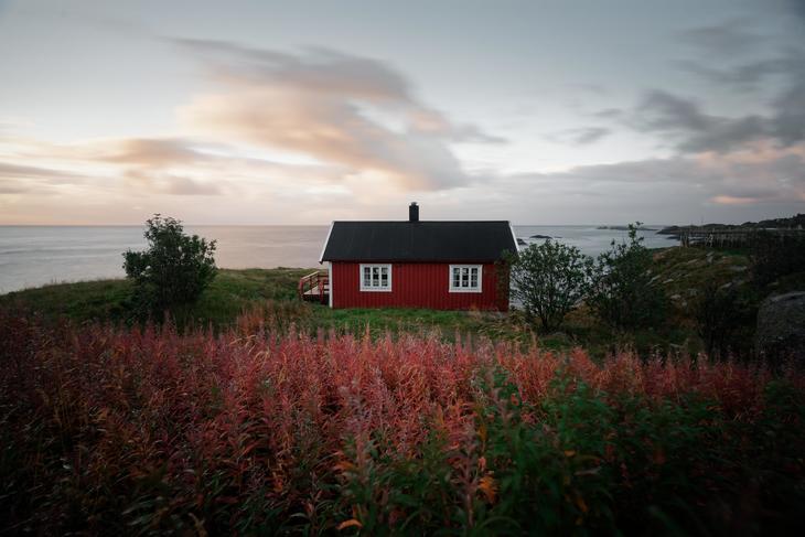 Bilde av hytte