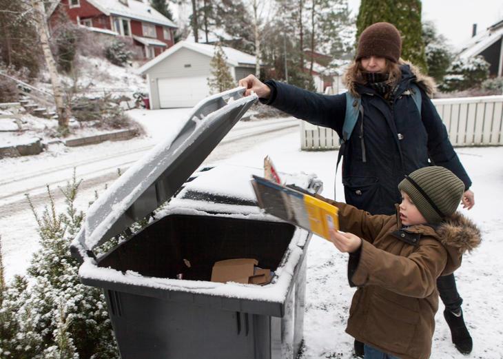 Bilde av søppeldunker.