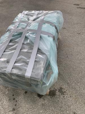 Feilpakket asbestpalle