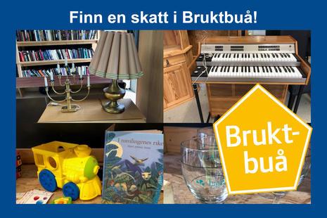 Bilde av ting fra Bruktbua